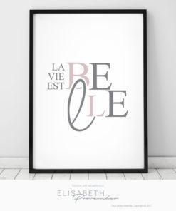 «La Vie est Belle»