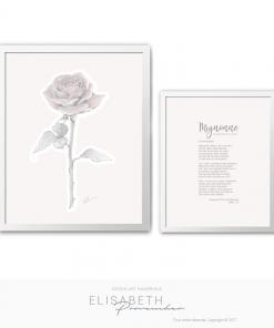« MIGNONNE, ALLONS VOIR SI LA ROSE » - Elisabeth Provencher, artiste
